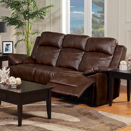 New Classic Cortez 22 244 32 Power Reclining Sofa Del