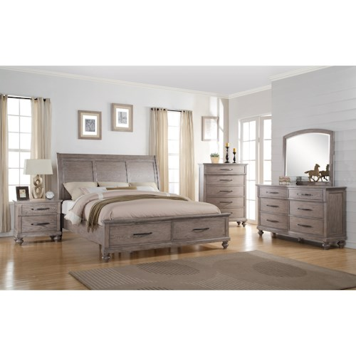 New Classic La Jolla Queen Bedroom Group Beck 39 S Furniture Bedroom Group Sacramento Rancho