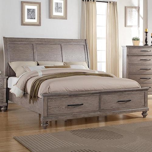Bed Del Sol Furniture Headboard Footboard Phoenix Glendale