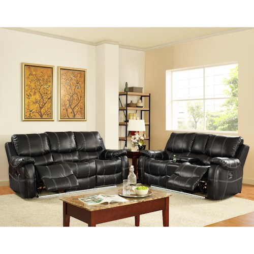 New Classic Lynx Reclining Living Room Group Del Sol Furniture Reclining