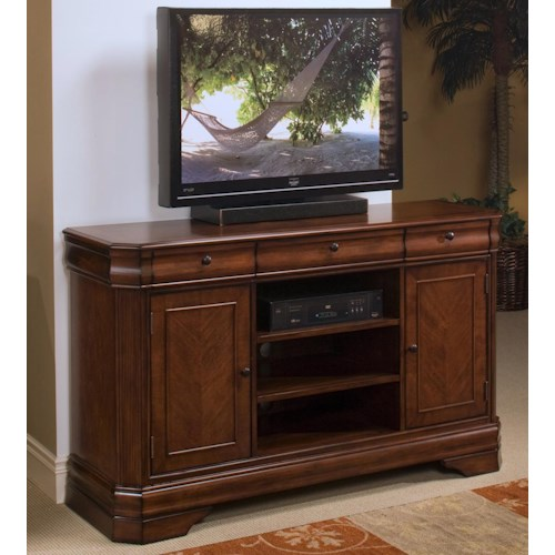 New classic sheridan tv entertainment console great for American furniture warehouse tv stands