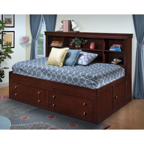 New classic versaille twin lounge bed del sol furniture for Ikea avondale az