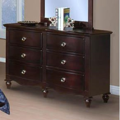 New Classic Victoria Youth 6 Drawer Dresser Beck 39 S
