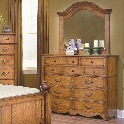 New Classic Hailey 12 Drawer Dresser Mirror Combo Beck 39 S Furniture Dresser Mirror