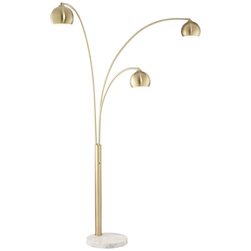 lamps pacific coast lighting floor lamps crosstown arc gold floor lamp. Black Bedroom Furniture Sets. Home Design Ideas