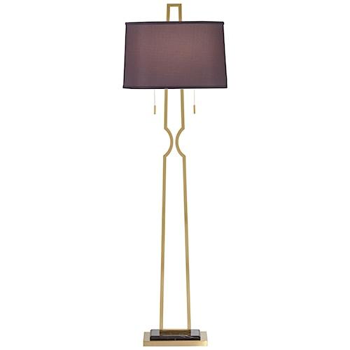 Pacific coast lighting floor lamps contemporary metal for Contemporary floor lamps gold coast
