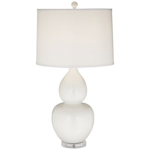 coast lighting table lamps white contempo table lamp made in usa. Black Bedroom Furniture Sets. Home Design Ideas