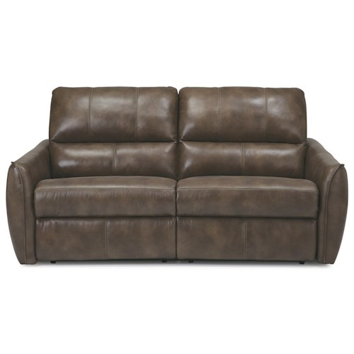 Palliser arlo contemporary sofa recliner with tapered arms for Pause modern reclining sectional sofa by palliser