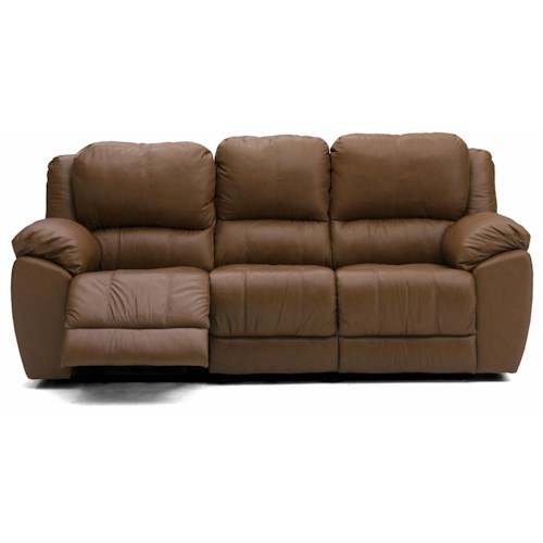 Palliser Leather Reclining Sofa Reviews: Palliser Benson 41164 Leather Reclining Sofa