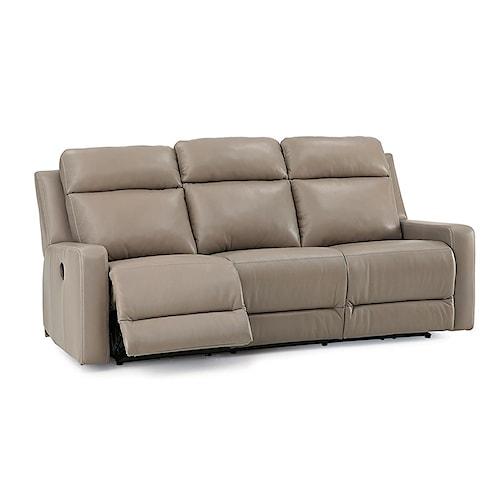 Palliser Leather Reclining Sofa Reviews: Palliser Forest Hill Contemporary Power Reclining Sofa