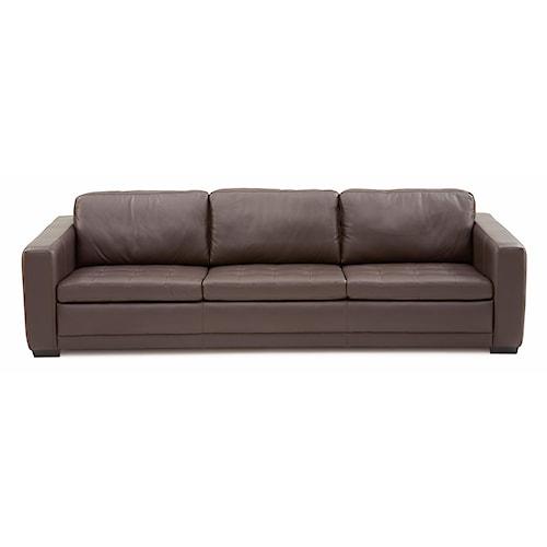 Palliser Knightsbridge Transitional Sofa With Track Arms