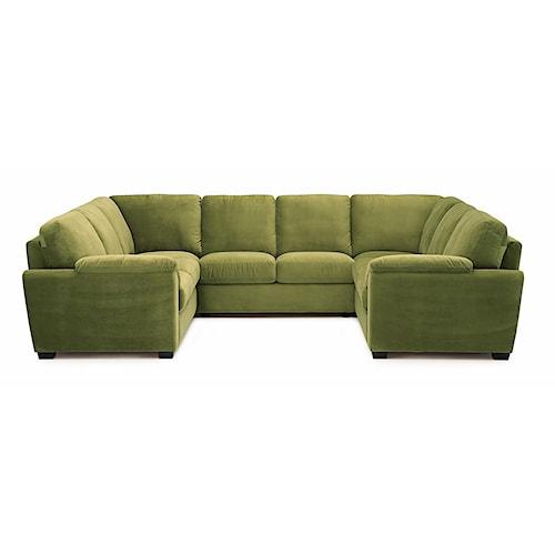 Palliser Lanza Casual Square Sectional Sofa Jordan 39 S