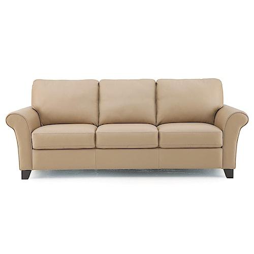 Palliser Rosebank Transitional Sofa With Flared Arms