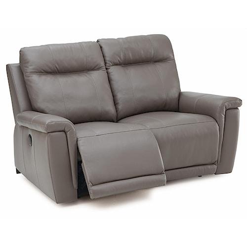 Palliser Leather Reclining Sofa Reviews: Palliser Westpoint Contemporary Loveseat Recliner W/ Power