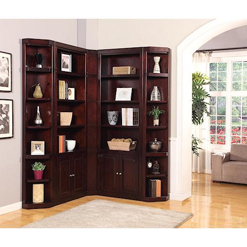 Corner Bookcase Unit Boston By Parker House Wilcox