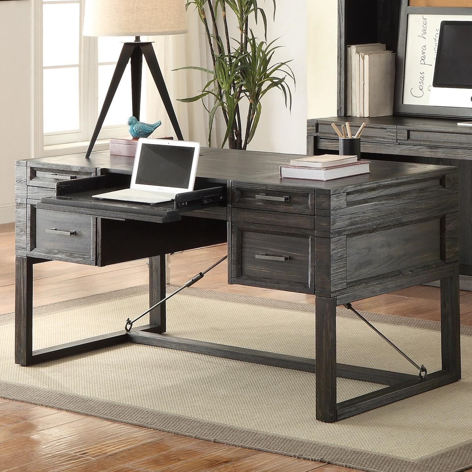 Parker House Hudson 60 Quot Writing Desk With Power Center And