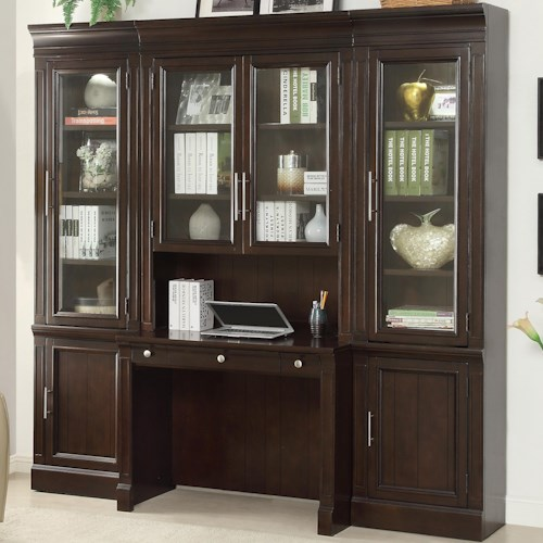 Parker House Stanford Complete Wall Unit With Built In