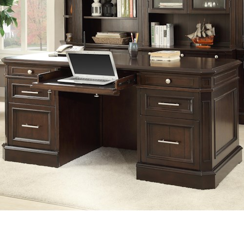 Parker House Stanford Sta 480 3 Double Pedestal Executive
