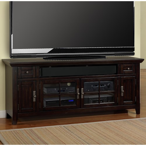 Parker House Tahoe 72 Console With 4 Doors Beck 39 S Furniture Tv Stands Sacramento Rancho