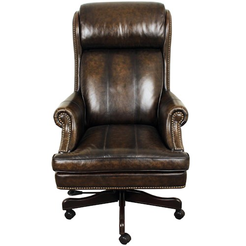 Parker Living Desk Chairs Executive Chair With Nail Head