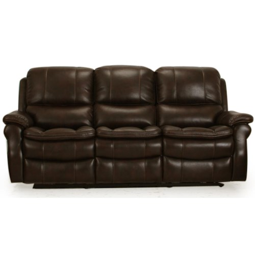 Parker Living Juno Dual Power Reclining Sofa With Pillow Arms And Bucket Seats J J Furniture