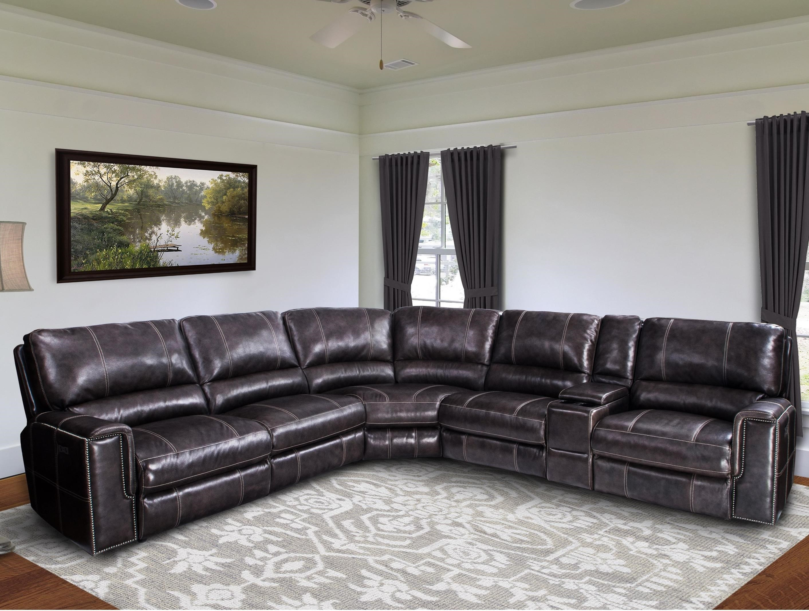 Parker Living Salinger Casual Power Reclining Sectional