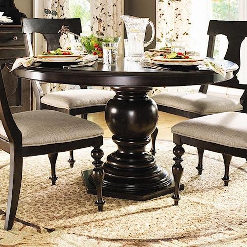 Paula Deen By Universal Paula Deen Home Round Pedestal Table Wayside Furnit