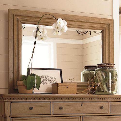 Paula Deen By Universal Down Home Landscape Mirror Fashion Furniture Dresser Mirror Fresno
