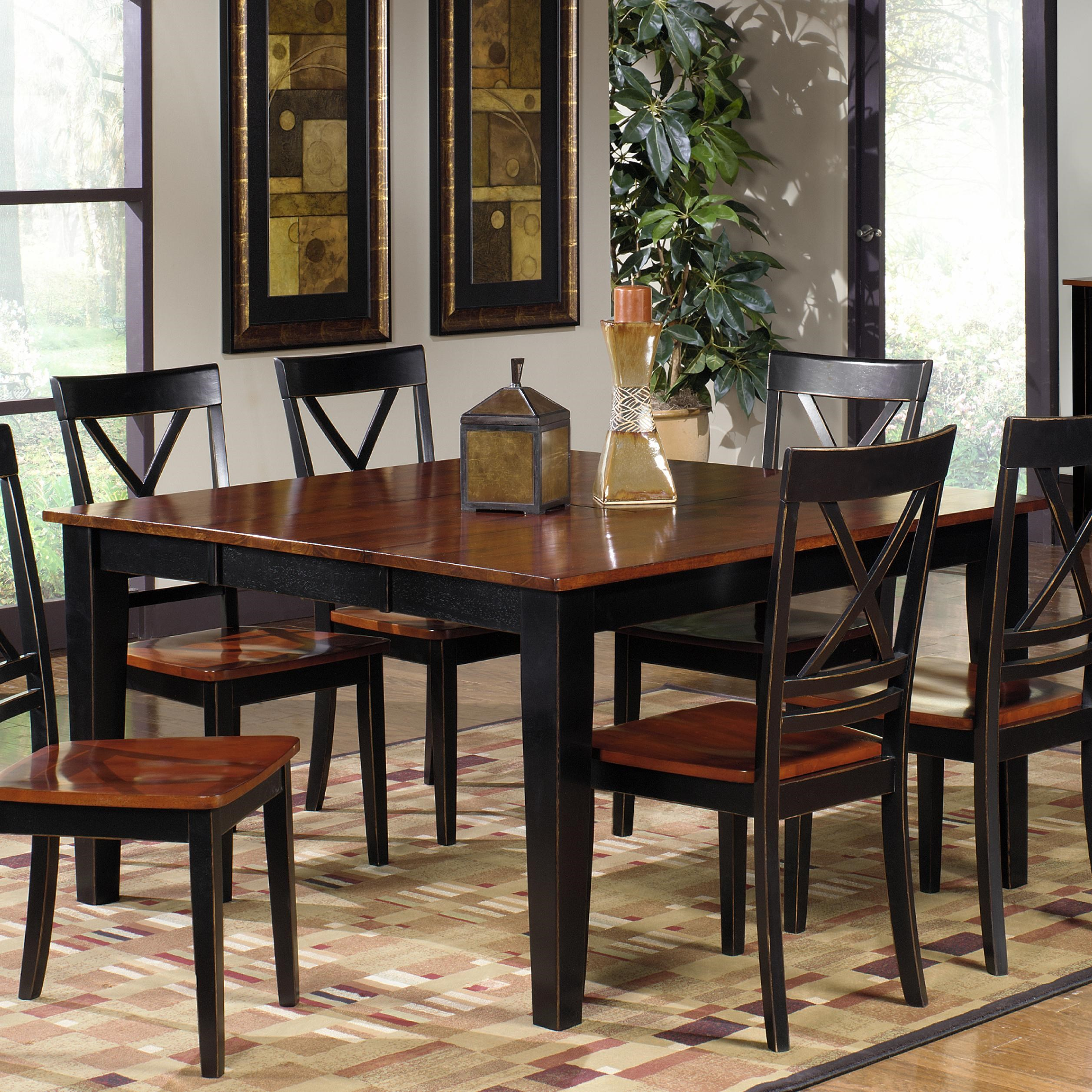 Progressive Furniture Cosmo Casual Dining Table with Leaf