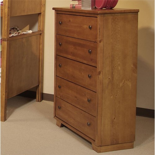 Progressive furniture diego five drawer chest lindy 39 s for Furniture 500 companies