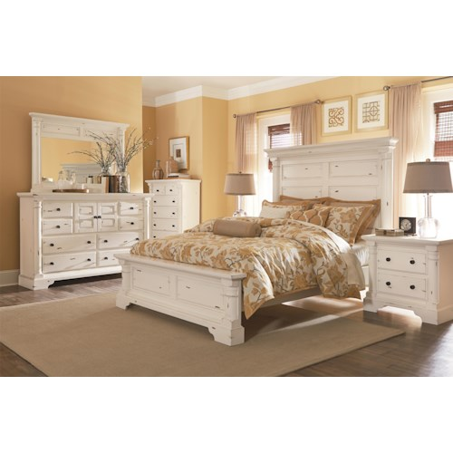 Progressive Furniture Gramercy Park Queen Bedroom Group