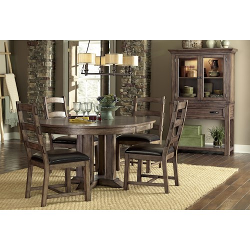 Progressive furniture boulder creek casual dining room group northeast factory direct casual - Dining rooms direct ...