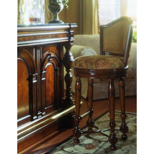 Pulaski Furniture Accents 565501 Bar Stool Baer 39 S Furniture Bar Stool Boca Raton Naples