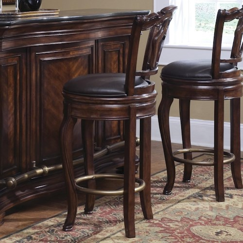 Pulaski Furniture Accents Toscano Vialetto Bar Stool John V Schultz Furniture Bar Stool Erie