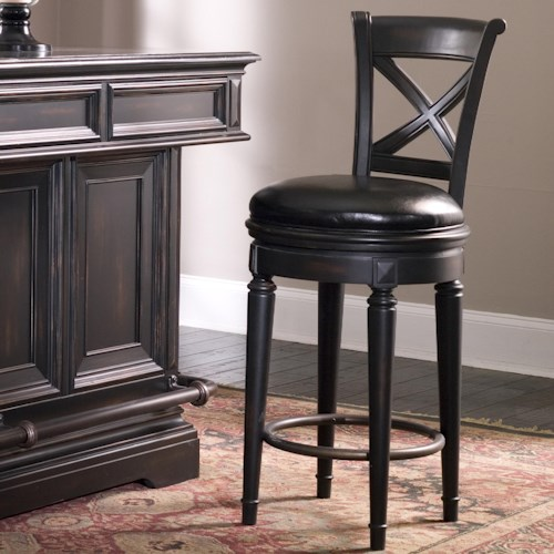 Pulaski Furniture Accents Bar Stool With Upholstered Seat Zak 39 S Fine Furniture Bar Stools
