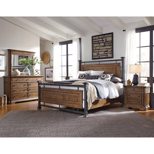 pulaski furniture reddington queen bedroom group 1 conlin 39 s furniture bedroom group. Black Bedroom Furniture Sets. Home Design Ideas
