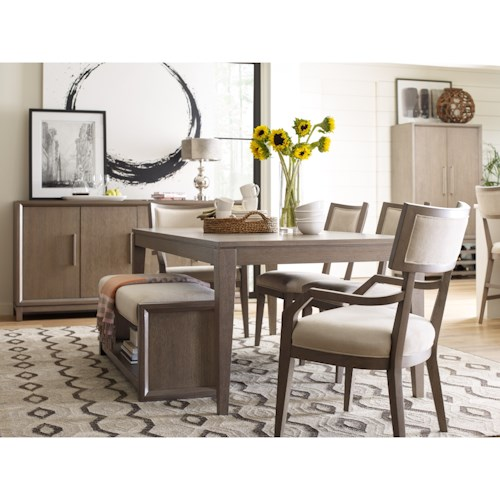 Rachael Ray Home High Line Dining Room Group Fashion Furniture Formal Dining Room Groups