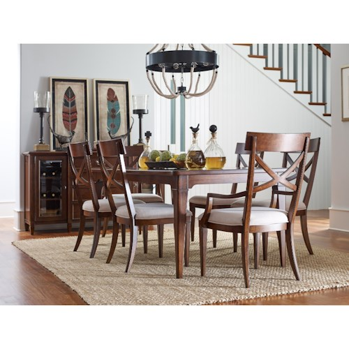 Rachael Ray Home By Legacy Classic Upstate Formal Dining Room Group Fashion Furniture Formal
