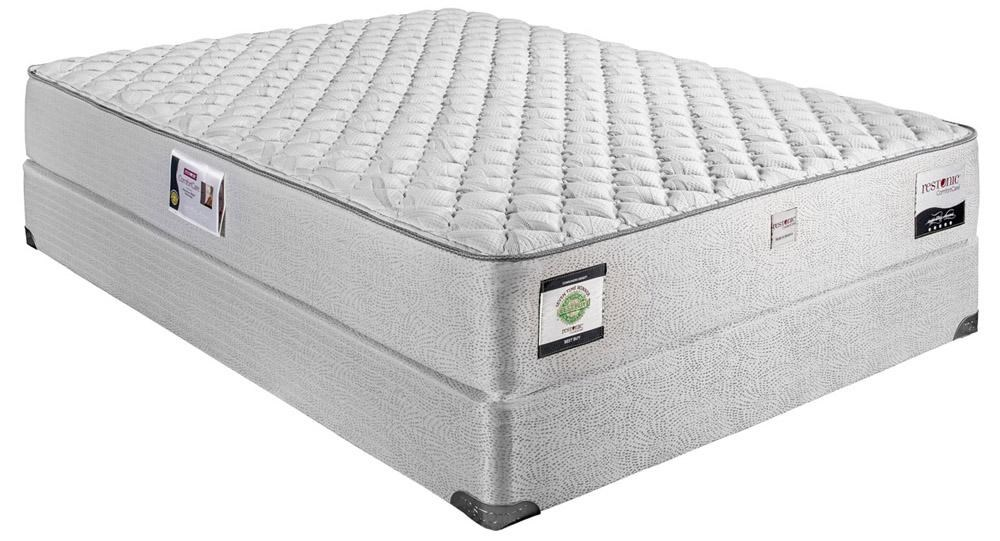 Queen Supreme Extra Firm Mattress and Foundation Allura
