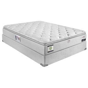 Full Euro Top Mattress fortCare Atlantis by Restonic