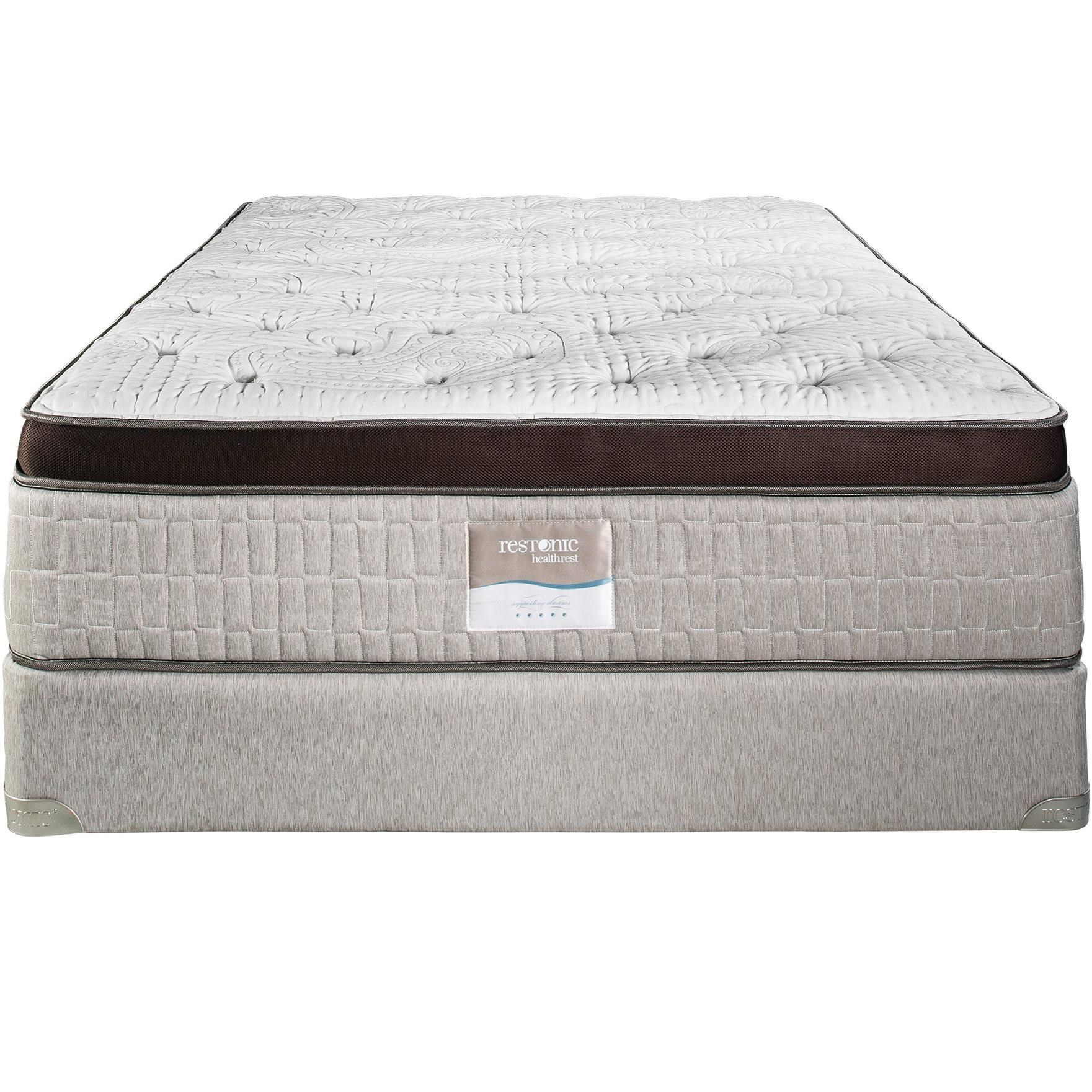 Restonic Vienna Full Eurotop Firm Mattress