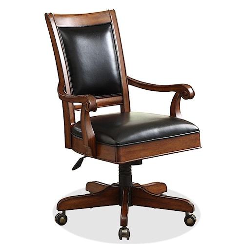 Riverside furniture bristol court desk chair hudson 39 s for Hudsons furniture