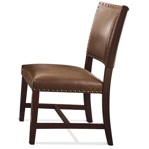 Riverside Furniture Mix N Match Chairs Bonded Leather