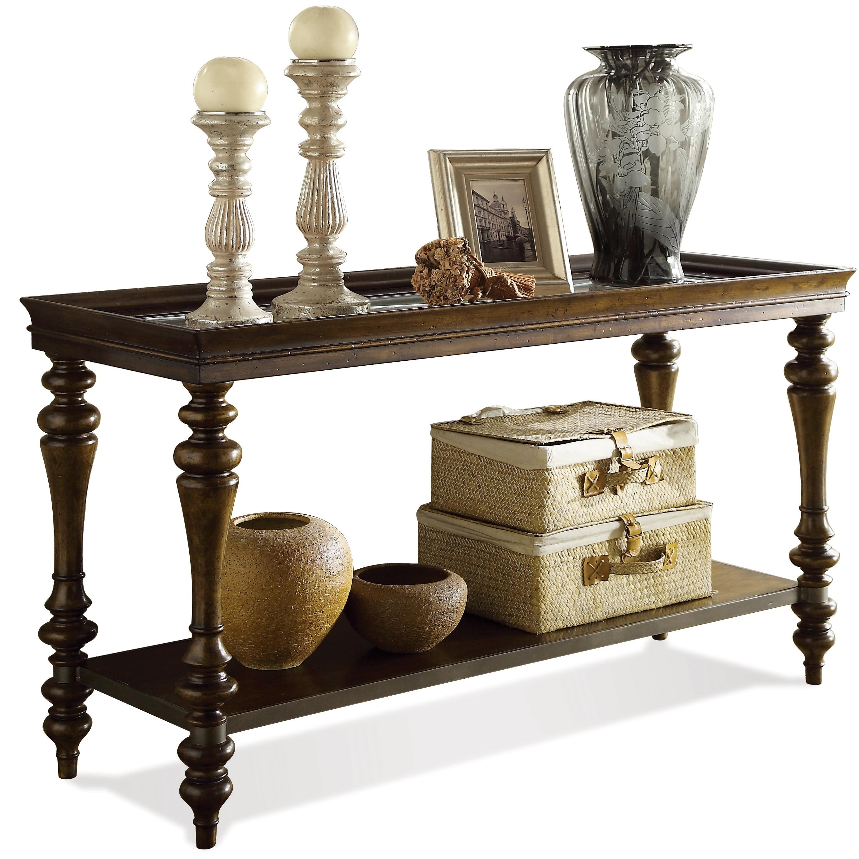 Riverside Furniture Windermier Sofa Table Hudson S Furniture Sofa Tables Consoles Tampa St