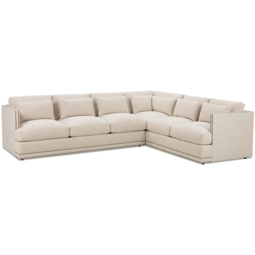 Robin Bruce Oscar Contemporary Sectional Sofa Group