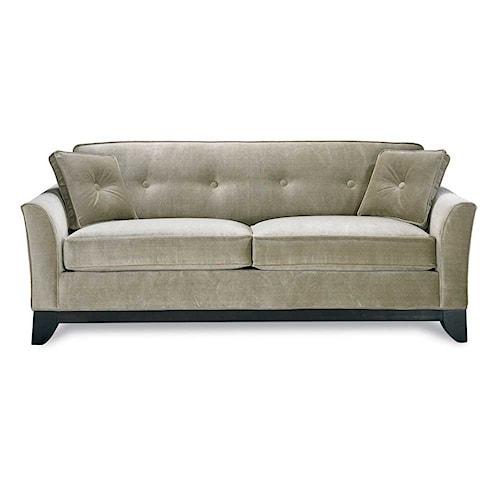 Rowe berkeley contemporary queen sleeper sofa wilson39s for Berkeley modern furniture