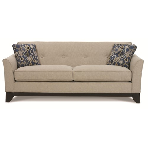 Contemporary Furniture Nashville: Rowe Berkeley Contemporary Queen Sleeper Sofa