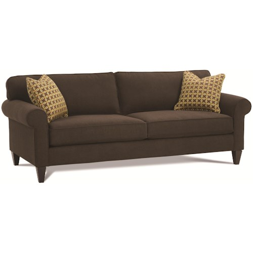 Rowe bleeker rxo n290 002 custom sofa baer 39 s furniture for Boca chaise pillow