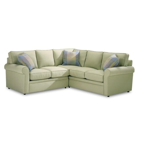 Rowe Brentwood 9252 Sect Sectional Sofa Johnny Janosik Sofa Sectional Delaware Maryland