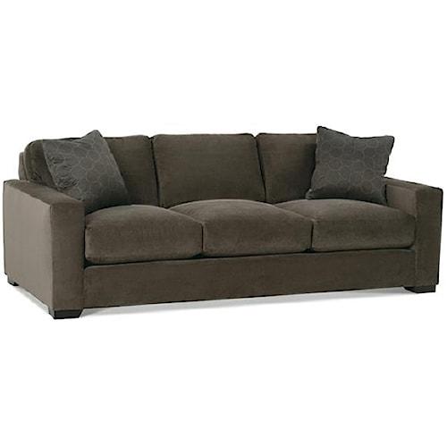 Rowe Dakota N390 033 Sofa Baer 39 S Furniture Sofa Boca Raton Naples Sarasota Ft Myers